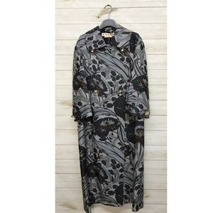 NWT Marni Floral Trenchcoat